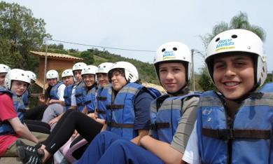Rafting Estudo do Meio 2