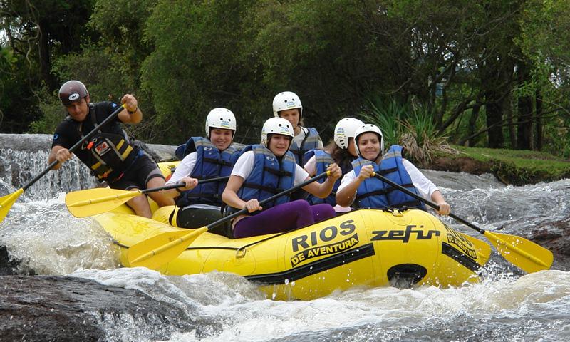 Rafting Estudo do Meio