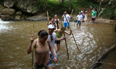 Trilha com Cachoeira 3